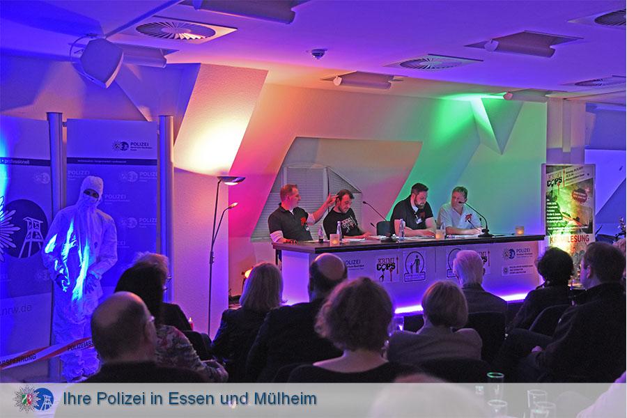 Mörderisch gut - Krimilesung im Polizeipräsidium Essen am 04.03.2017