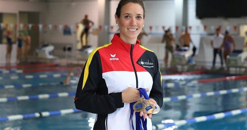 Isabelle Härle holt 3 Titel bei Polizei-EM