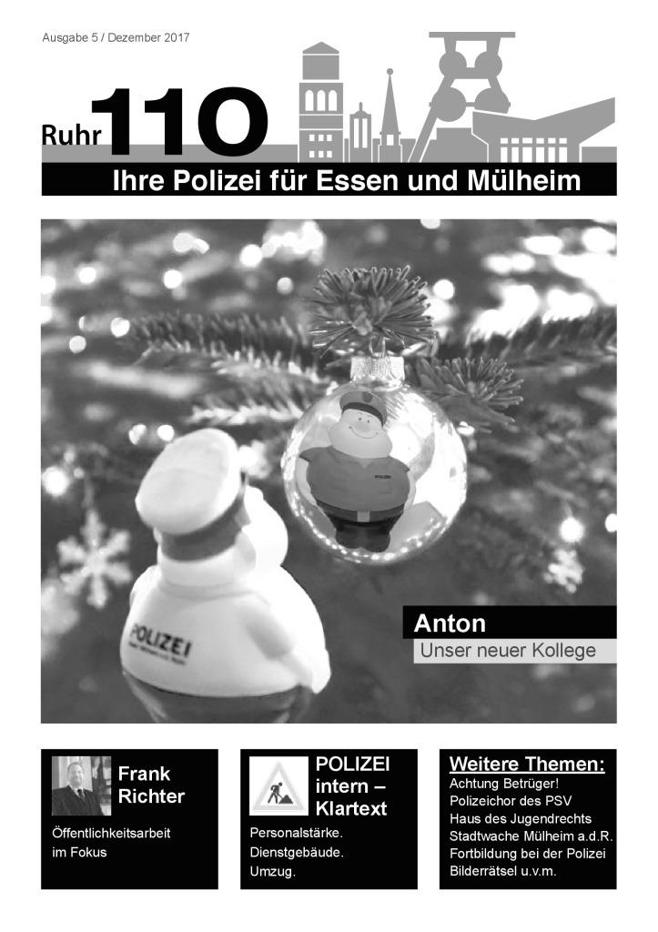 Ruhr110 Ausgabe 5 / Dezember 2017