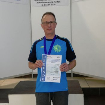 Polizeilandesmeisterschaft NRW im Schwimmen und Retten