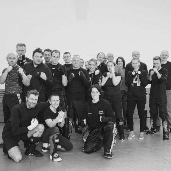 "Seminartraining ""Kickboxen"" mit Claudia Kiontke"