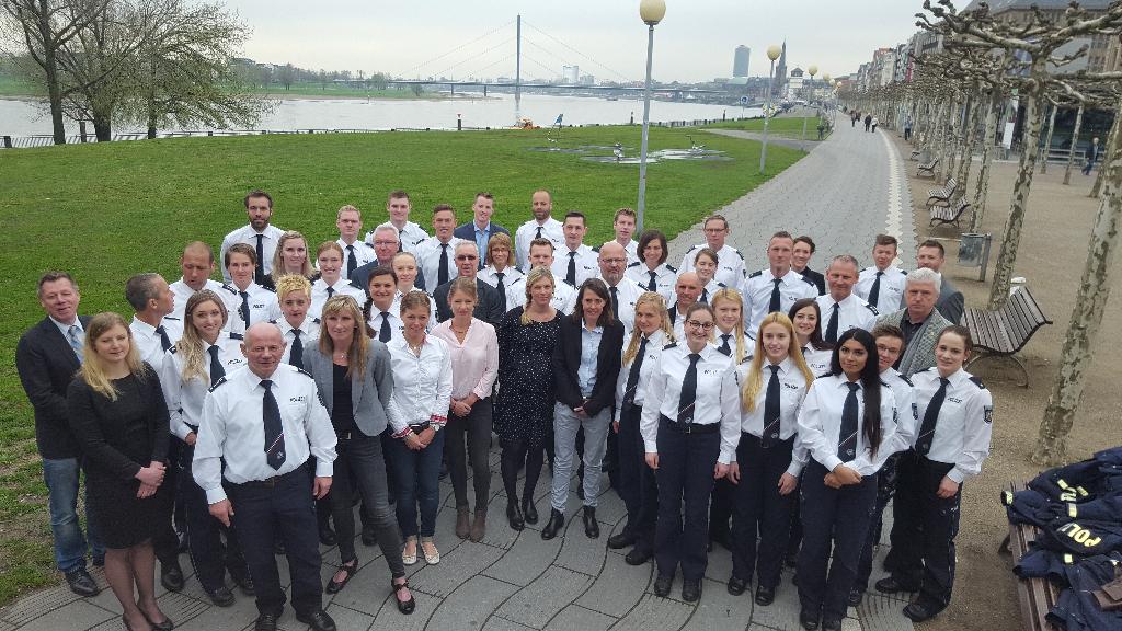Polizeisportlerehrung im Düsseldorfer Apollo Varieté
